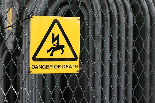nebezpečí