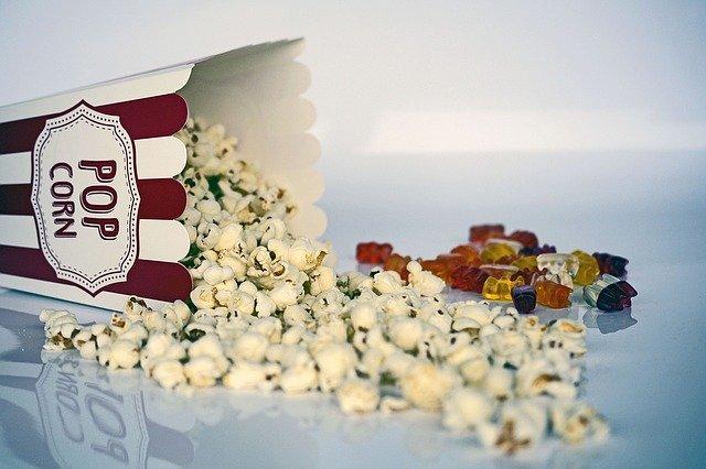 bonbony a popcorn