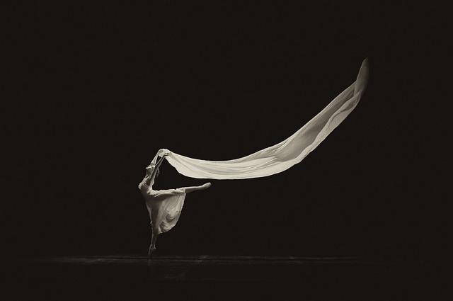mladá baletka