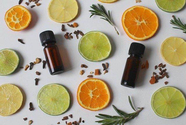 sušené citrusy