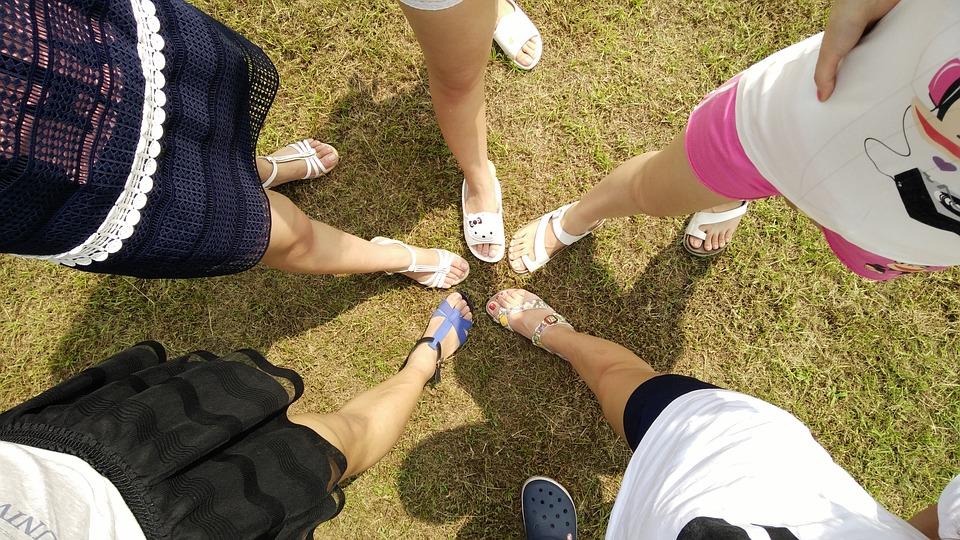 krásné ženské nohy