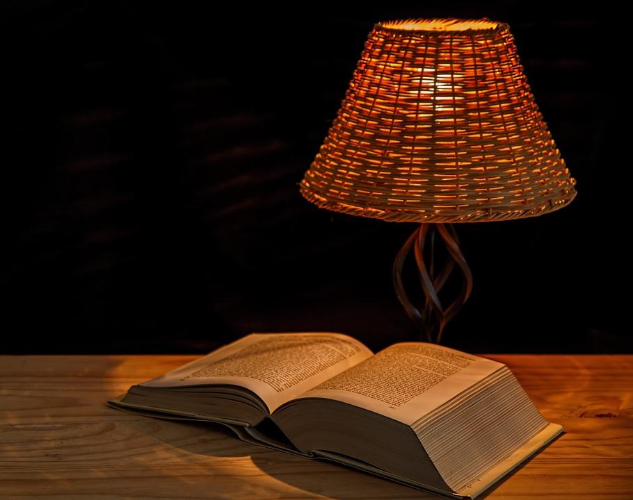 lampička na čtení